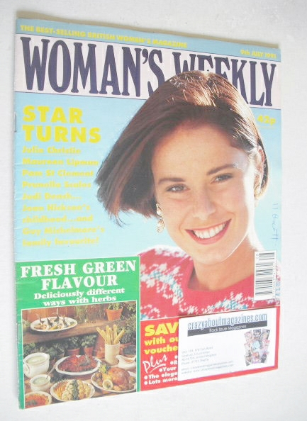 <!--1991-07-09-->Woman's Weekly magazine (9 July 1991)