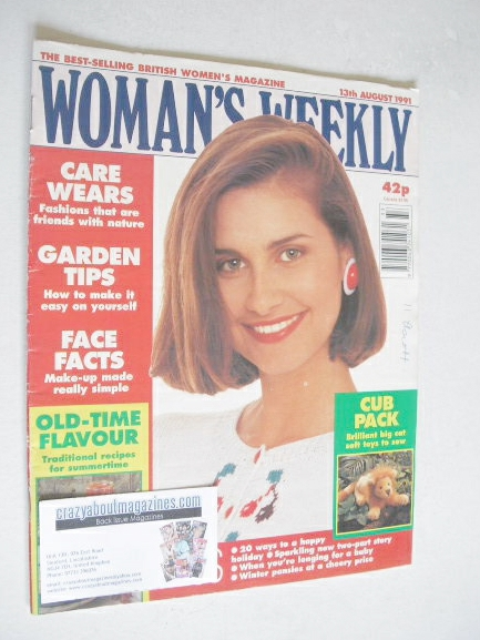 <!--1991-08-13-->Woman's Weekly magazine (13 August 1991)