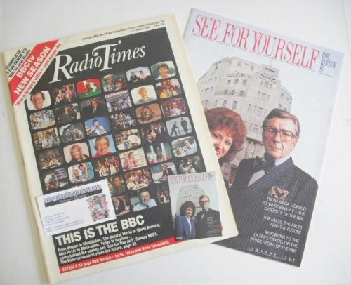 <!--1988-01-02-->Radio Times magazine - This Is The BBC cover (2-8 January