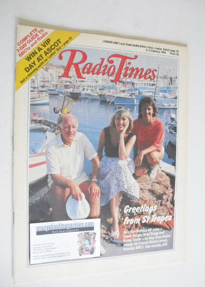 <!--1988-02-06-->Radio Times magazine - Frank Bough, Anne Gregg and Kathy T