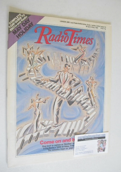 <!--1988-04-30-->Radio Times magazine - Come On And Hear cover (30 April -