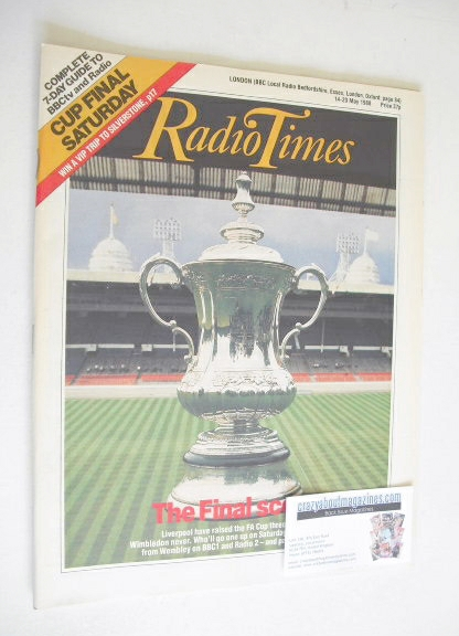 <!--1988-05-14-->Radio Times magazine - The Final Score cover (14-20 May 19