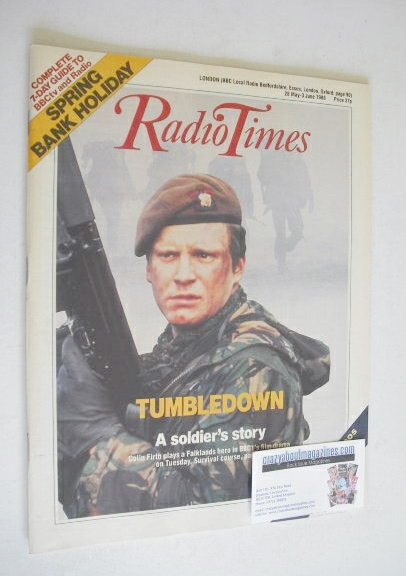 <!--1988-05-28-->Radio Times magazine - Colin Firth cover (28 May - 3 June
