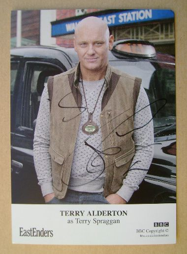 Terry Alderton autograph