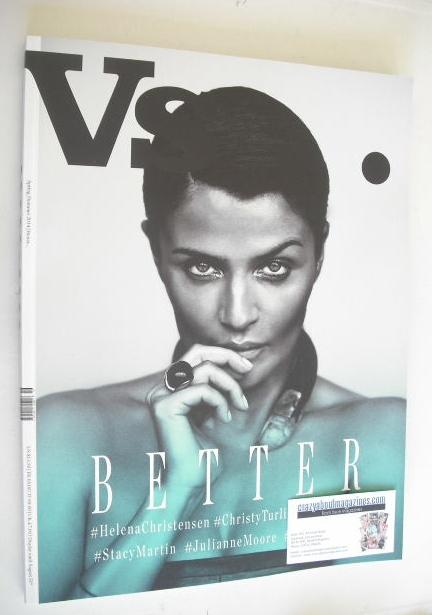 Vs magazine - Helena Christensen cover (Spring/Summer 2014)