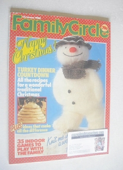 Family Circle magazine - Christmas 1988