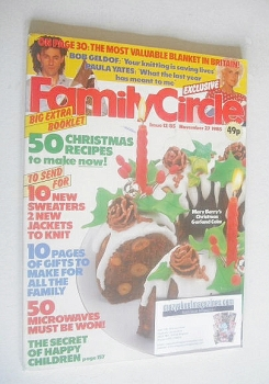 Family Circle magazine - 27 November 1985