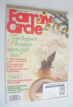 Family Circle magazine - December 1989