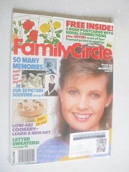 Family Circle magazine - May 1986 - Dee Hepburn cover