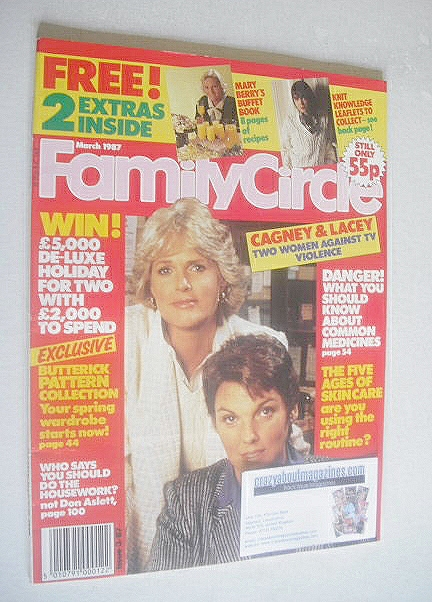 <!--1987-03-->Family Circle magazine - March 1987 - Sharon Gless and Tyne D