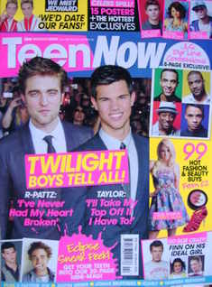 Teen Now magazine - Robert Pattinson and Taylor Lautner cover (February/March 2010)