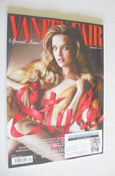 <!--2014-09-->Vanity Fair magazine - Natalia Vodianova cover (September 201