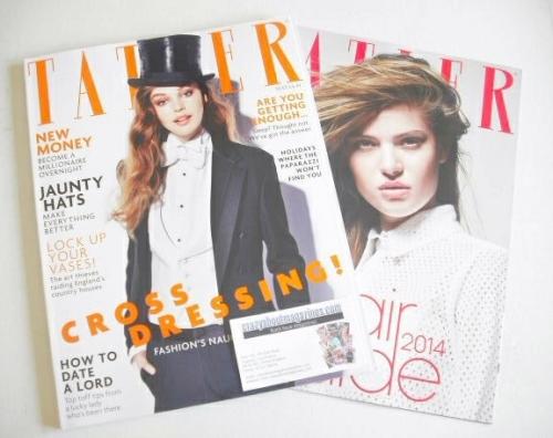 <!--2014-09-->Tatler magazine - September 2014 - Millie Rose Loggie cover