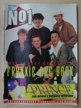 No 1 Magazine - Frankie Goes To Hollywood cover (30 August 1986)