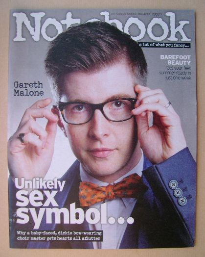 <!--2014-05-25-->Notebook magazine - Gareth Malone cover (25 May 2014)