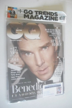 British GQ magazine - October 2014 - Benedict Cumberbatch cover
