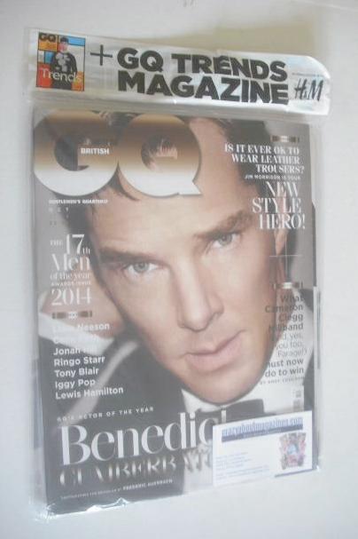 <!--2014-10-->British GQ magazine - October 2014 - Benedict Cumberbatch cov