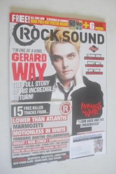 Rock Sound magazine - Gerard Way cover (October 2014)