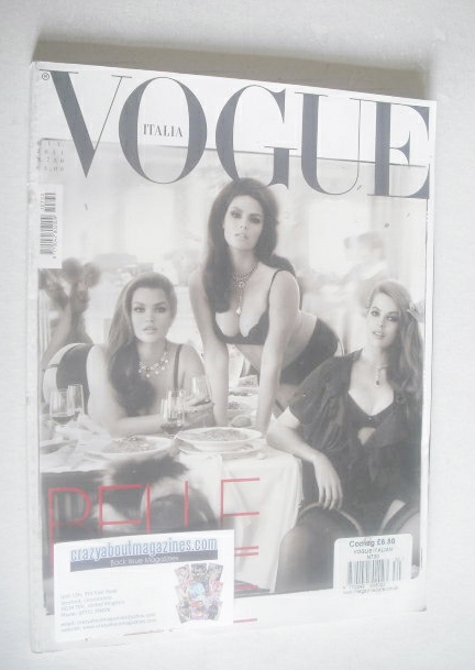 <!--2011-06-->Vogue Italia magazine - June 2011 - Belle Vere cover