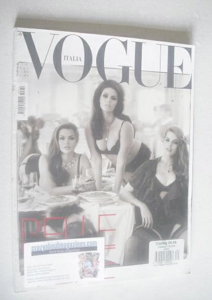 <!--2011-06-->Vogue Italia magazine - June 2011 - Belle Vere cover