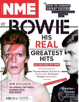 <!--2014-10-18-->NME magazine - David Bowie cover (18 October 2014)