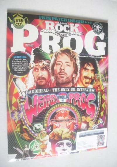 <!--2009-10-->Classic Rock Prog magazine (October 2009 - Issue 11)