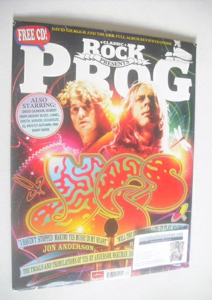 Classic Rock Prog Magazine October 2010