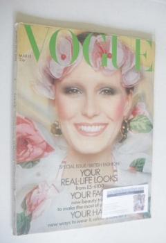 British Vogue magazine - 15 March 1972