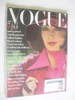 British Vogue - August 1972