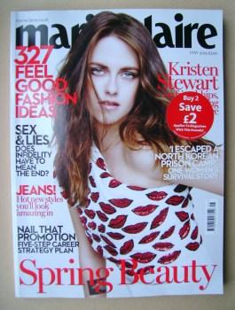 British Marie Claire magazine - May 2014 - Kristen Stewart cover