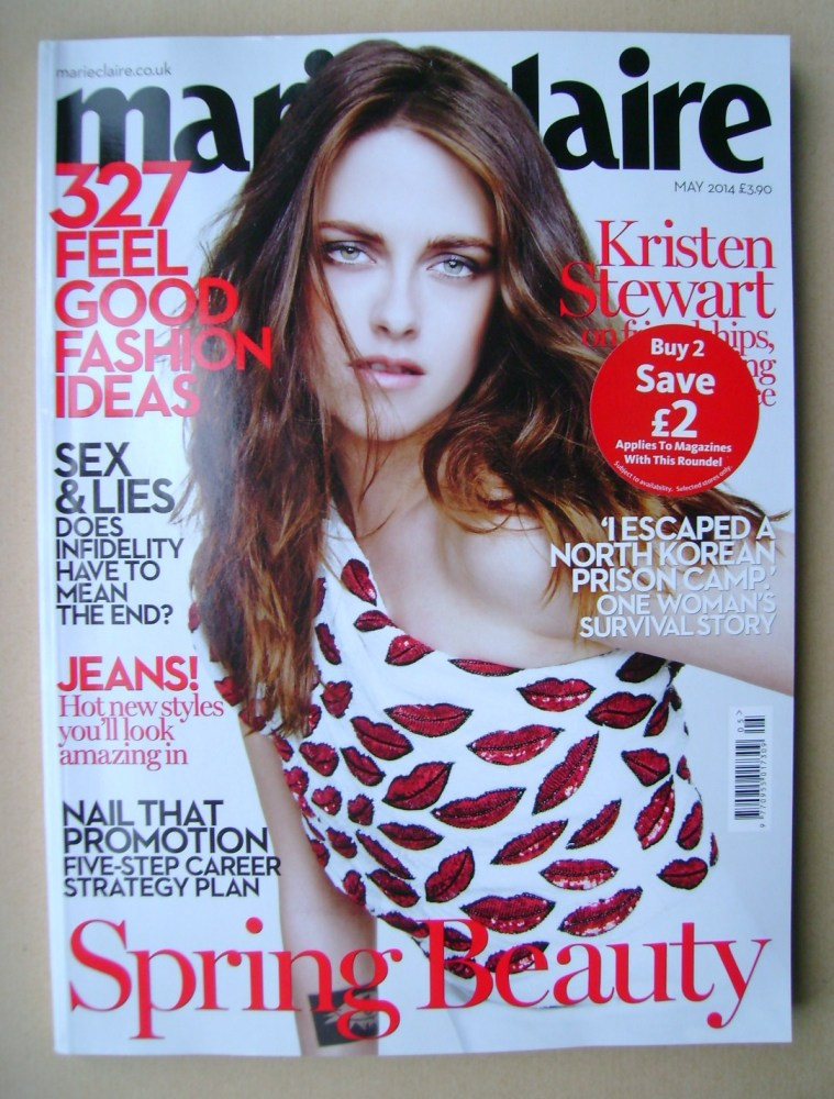 <!--2014-05-->British Marie Claire magazine - May 2014 - Kristen Stewart co