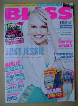 Bliss magazine - Summer 2013 - Jessie J cover