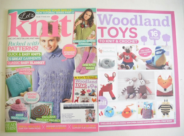 <!--2014-03-->Let's Knit magazine (March 2014 - Issue 77)