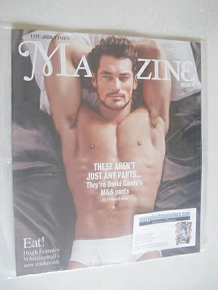 <!--2014-09-06-->The Times magazine - David Gandy cover (6 September 2014)