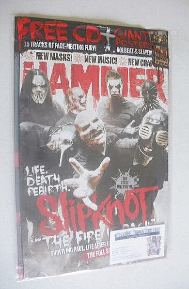 <!--2014-10-->Metal Hammer magazine - Slipknot cover (October 2014)