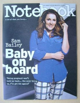 Notebook magazine - Sam Bailey cover (23 March 2014)
