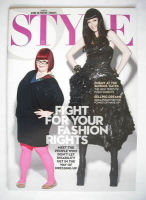 <!--2009-11-01-->Style magazine - Fight For Your Fashion Rights (1 November 2009)