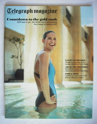<!--2009-10-31-->Telegraph magazine - Jo Jackson cover (31 October 2009)
