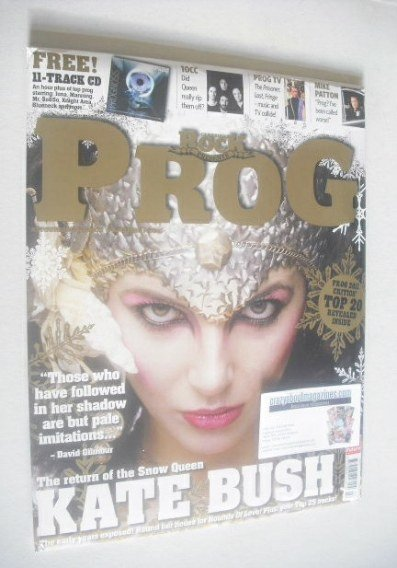 <!--2011-12-->Classic Rock Prog magazine - Kate Bush cover (December 2011 -
