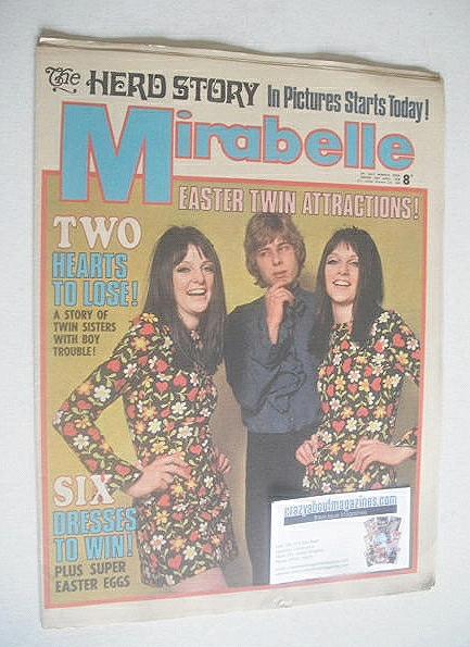 <!--1968-04-20-->Mirabelle magazine (20 April 1968)
