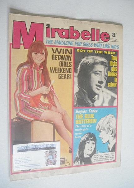 <!--1967-09-02-->Mirabelle magazine (2 September 1967)