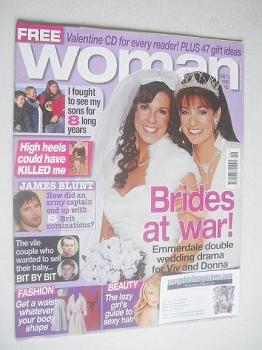 Woman magazine - Deena Payne and Verity Rushworth cover (13 February 2006)