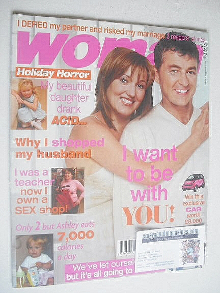 <!--2004-11-22-->Woman magazine - Shane Richie and Kacey Ainsworth cover (2