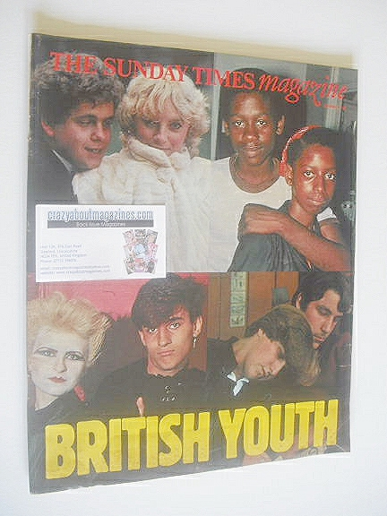 <!--1981-11-01-->The Sunday Times magazine - British Youth cover (1 Novembe