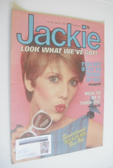 <!--1979-06-23-->Jackie magazine - 23 June 1979 (Issue 807)