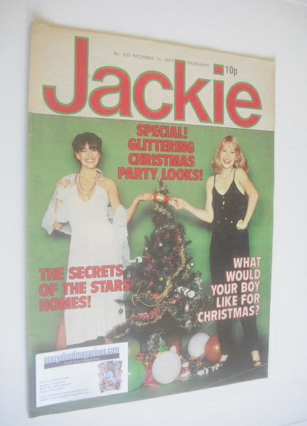 <!--1979-12-15-->Jackie magazine - 15 December 1979 (Issue 832)