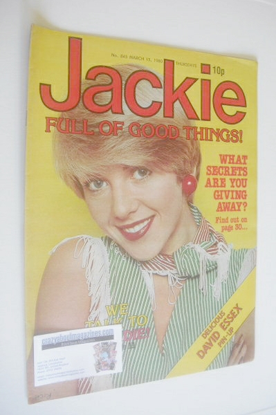 <!--1980-03-15-->Jackie magazine - 15 March 1980 (Issue 845)