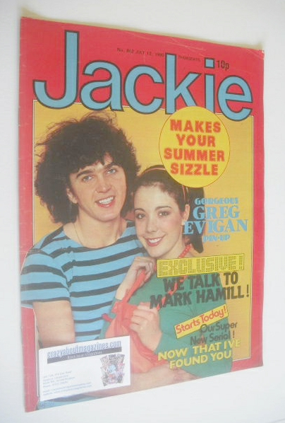<!--1980-07-12-->Jackie magazine - 12 July 1980 (Issue 862)