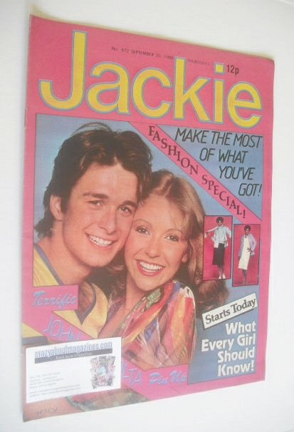 <!--1980-09-20-->Jackie magazine - 20 September 1980 (Issue 872)