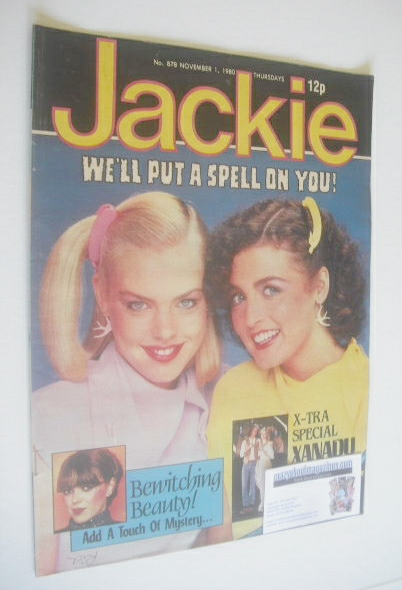 <!--1980-11-01-->Jackie magazine - 1 November 1980 (Issue 878)